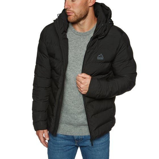 83bac834ee2 Chaqueta Superdry Echo Quilt Puffer - Black