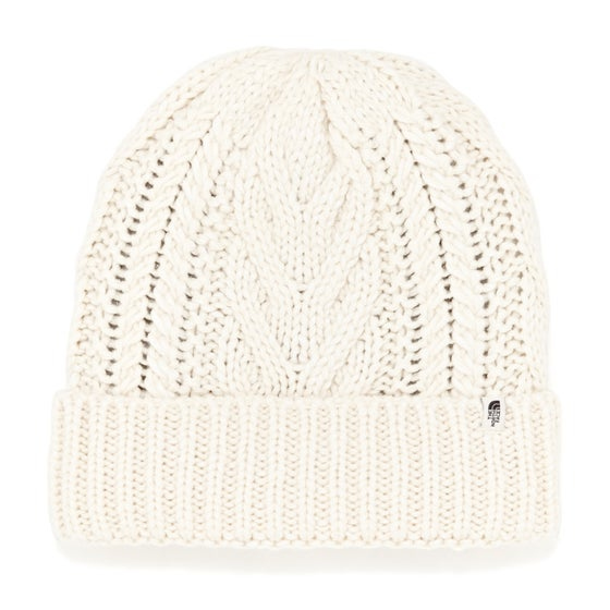 a91262b9b15 North Face Cable Minna Womens Beanie - Vintage White