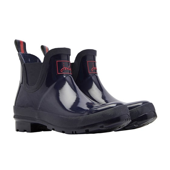 62b568d825211 Botas de lluvia Mujer Joules Wellibob Gloss - French Navy