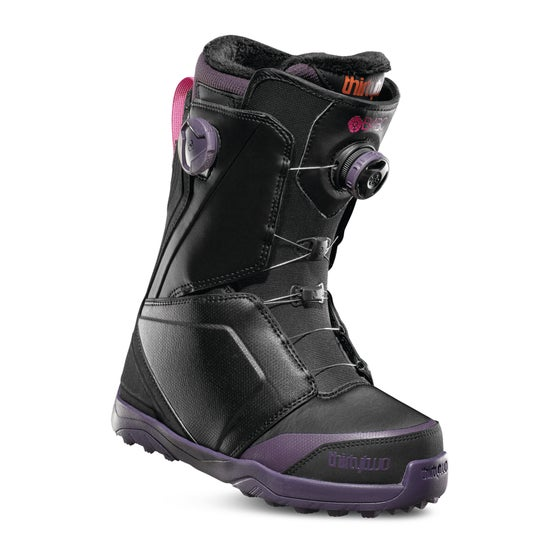 c01a506a9d Thirty Two Lashed B4BC Double Boa Womens Snowboard Boots - Black Purple