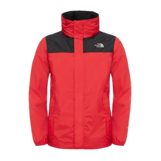 North Face Resolve Reflective Boys Jacket - TNF Red e6ce9b5f1