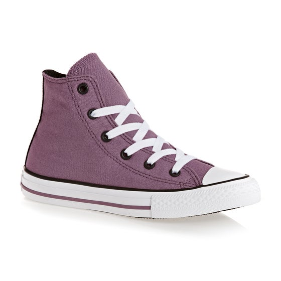 43624a21366a Converse. Converse Chuck Taylor All Star Youth Classic Hi Canvas Boys Shoes  - Violet ...