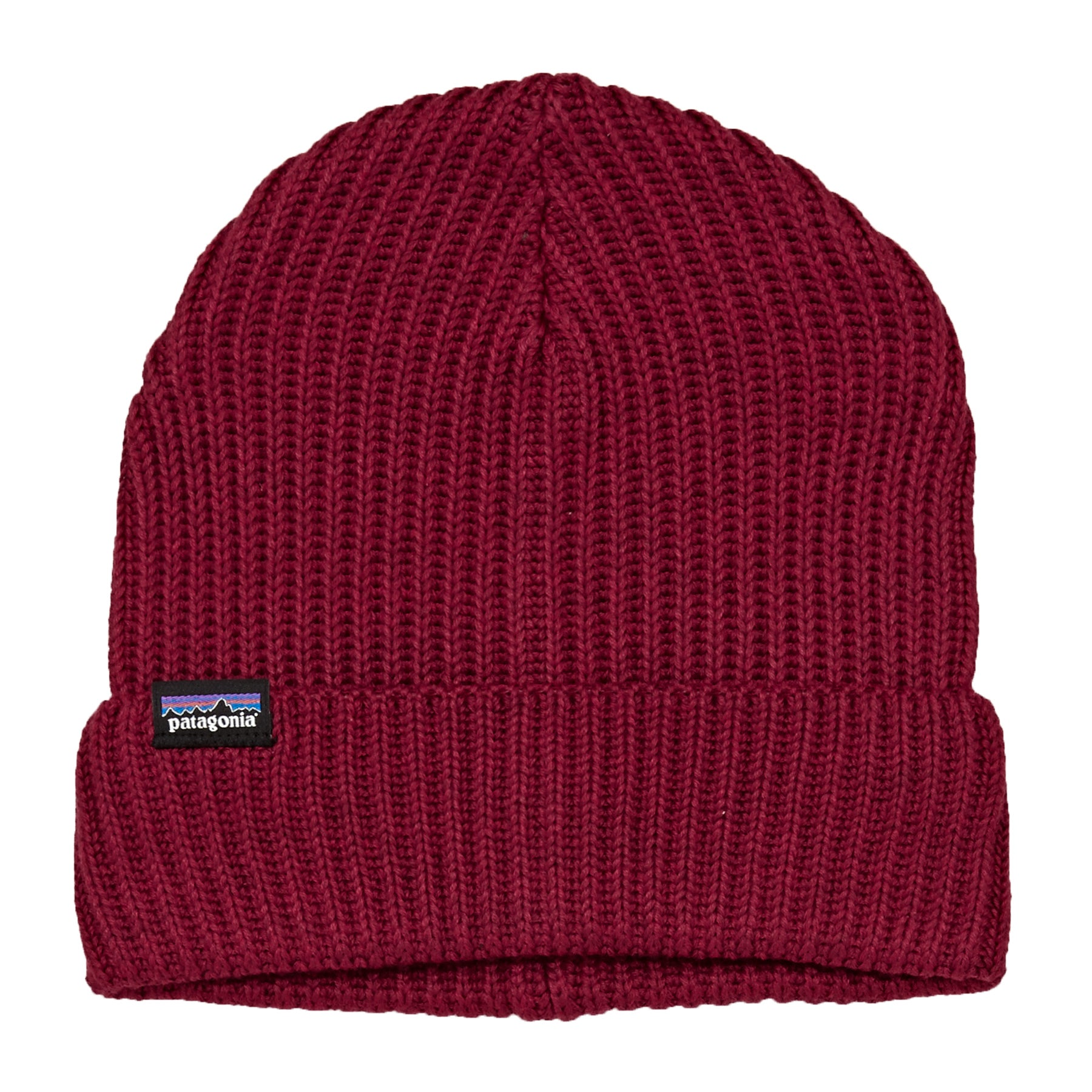 9d838e0a Patagonia Fishermans Rolled Mens Headwear Beanie Hat - Oxide Red One ...