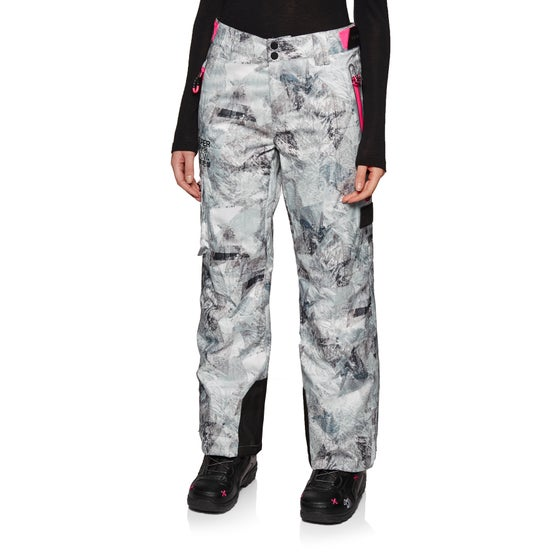 e22f746e1097 Pantalone Snowboard Donna Superdry Classic - Frosted Geo Mountain