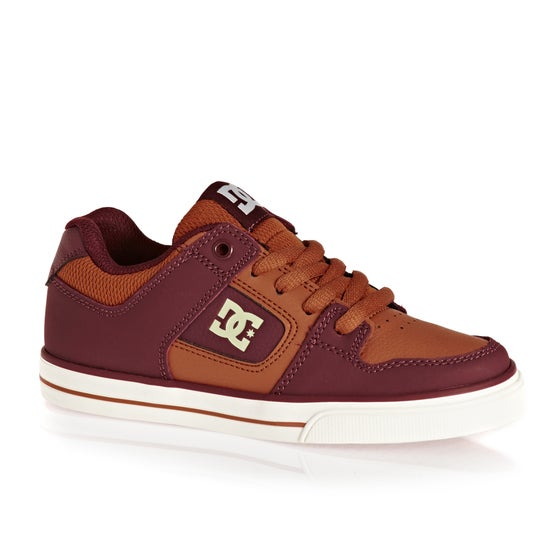 quality design c9892 579db Chaussures DC Pure - Burgundy Tan