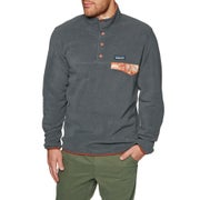 Patagonia Lightweight Synchilla Snap T Pull Over Fleece - Forge Grey
