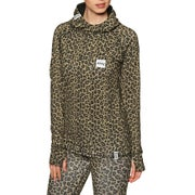 Eivy Icecold Hood Top Leopard L Womens Pullover Hoody - Leopard