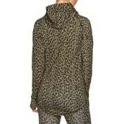 Eivy Icecold Hood Top Leopard L Womens Pullover Hoody