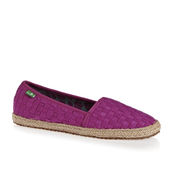 9677648a110 Sanuk. Sanuk Basket Case Womens Slip On Shoes - Vivid Violet