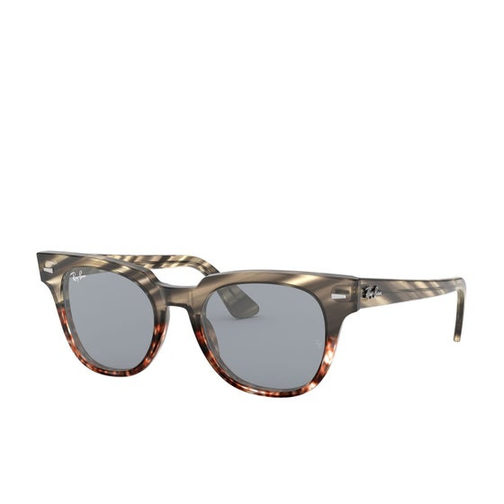2c7a12ecf25d8 Gafas de sol Ray-Ban Meteor - Grey Gradient Brown Stripped~blue Mir Gold
