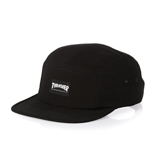 Thrasher 5 Panel Cap available from Surfdome 2417f8bf750