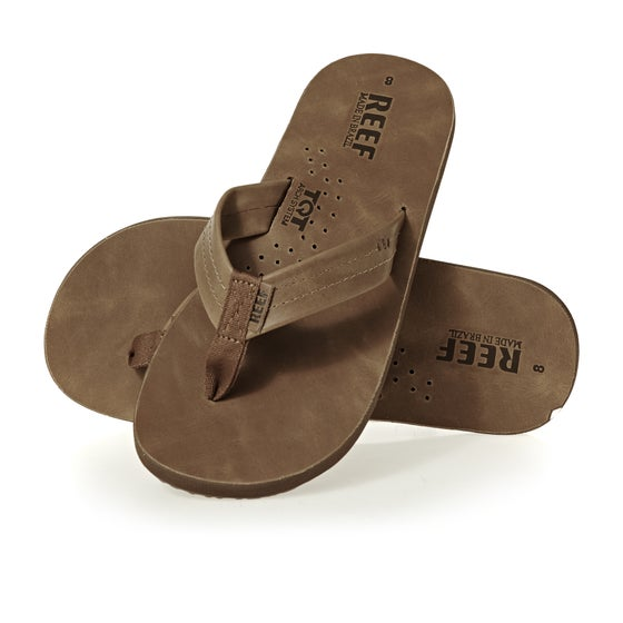 ca8ab98aaa2f Reef Draftsmen Sandals - Bronze Brown