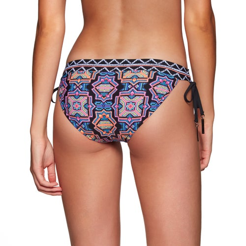Seafolly Sun Temple Banded Tie Side Hipster Womens Bikini Bottoms