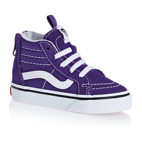 f439957b81997 Vans Sk8 Hi Zip Kids Toddler Shoes available from Surfdome