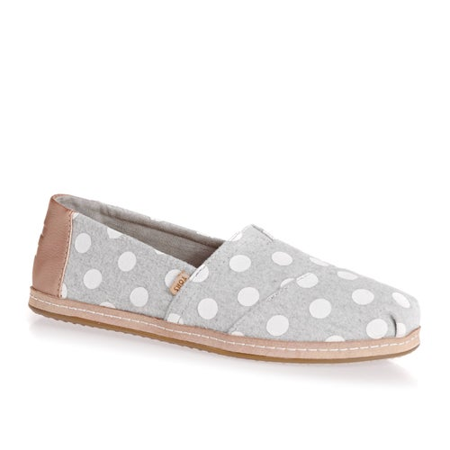 0cad09cfa7 Toms Drizzle Dots Felt Womens Espadrilles available from Surfdome