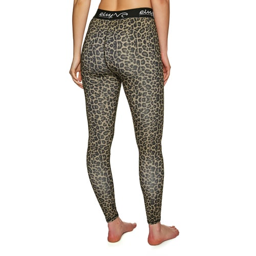 Eivy Icecold Tights Leopard L Womens Base Layer Leggings