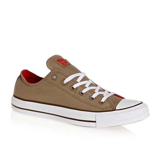 0fa5cf0d2df Chaussures Converse Chuck Taylor All Stars OX - Teak Cherry Red Chestnut  Brown