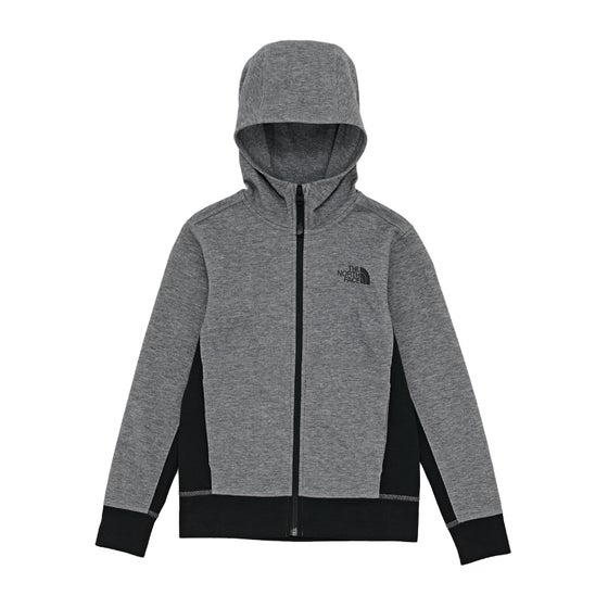 9441a9e10899e Sudaderas con capucha y cremallera Boys North Face Slacker - TNF Medium  Grey Heather TNF Black