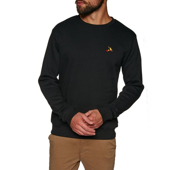 6bedeb364df Sweat SWELL Layback Crew - Black