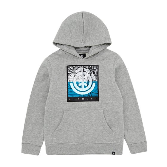 35355be8ea0b Element Reroute Boys Pullover Hoody - Grey Heather