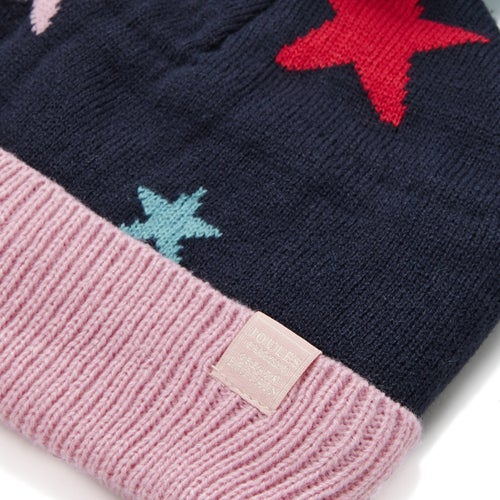 eb213d57087 Joules Halley Intarsia Oversized Pom-pom Girls Beanie available from ...