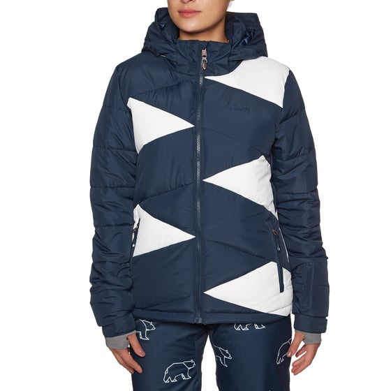 19b948adf2 Protest. Protest Silvares Womens Snow Jacket - Ground Blue