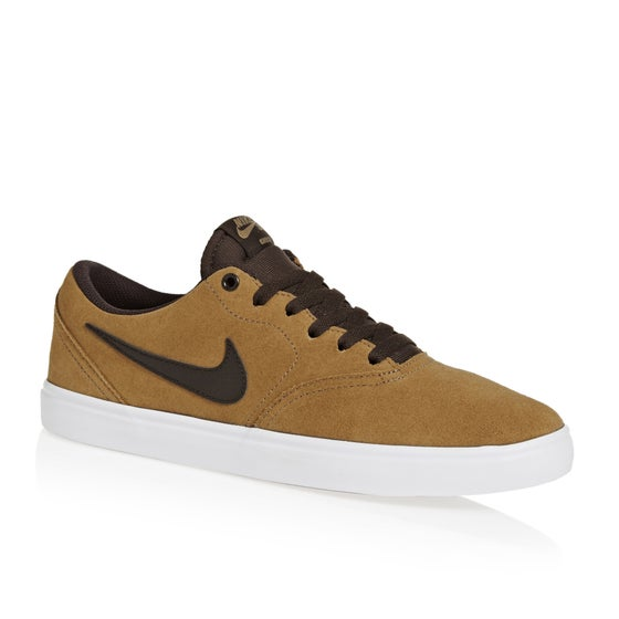 finest selection 8e569 1a0eb Calzado Nike SB Check Solarsoft - Golden Beigevelvet Brown-wht