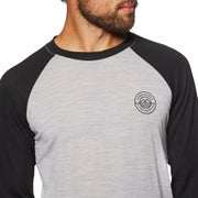 Mons Royale Icon Raglan Long Sleeve Base Layer Top