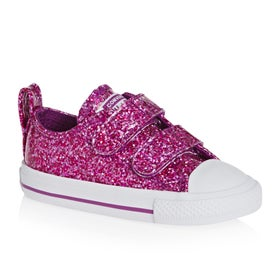 Converse. Converse Chuck Taylor All Star 2v Ox Glitter Baby Baby Shoes ... fc47d4350