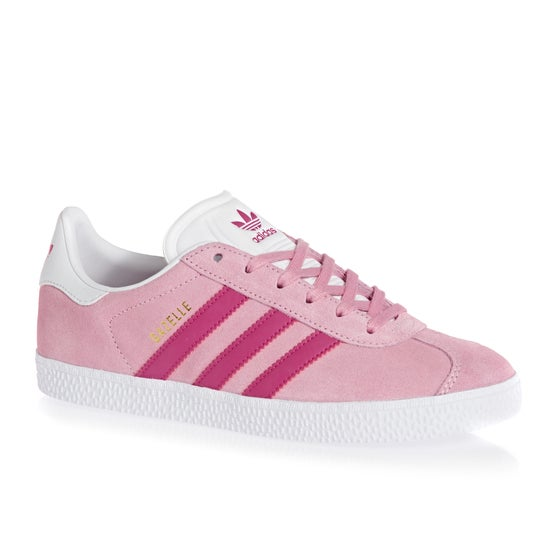 the latest 7620e 16ccb Adidas Originals. Chaussures Enfant Adidas Originals Gazelle Junior - Pink  Magenta White