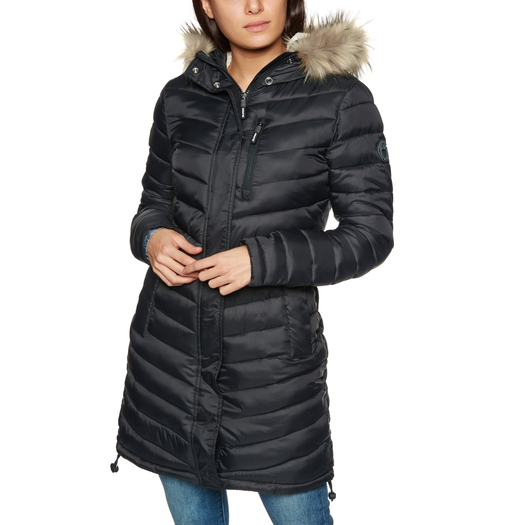 Faux Available Womens Chevron From Super Superdry Jacket Fuji Fur Twp4aAqR