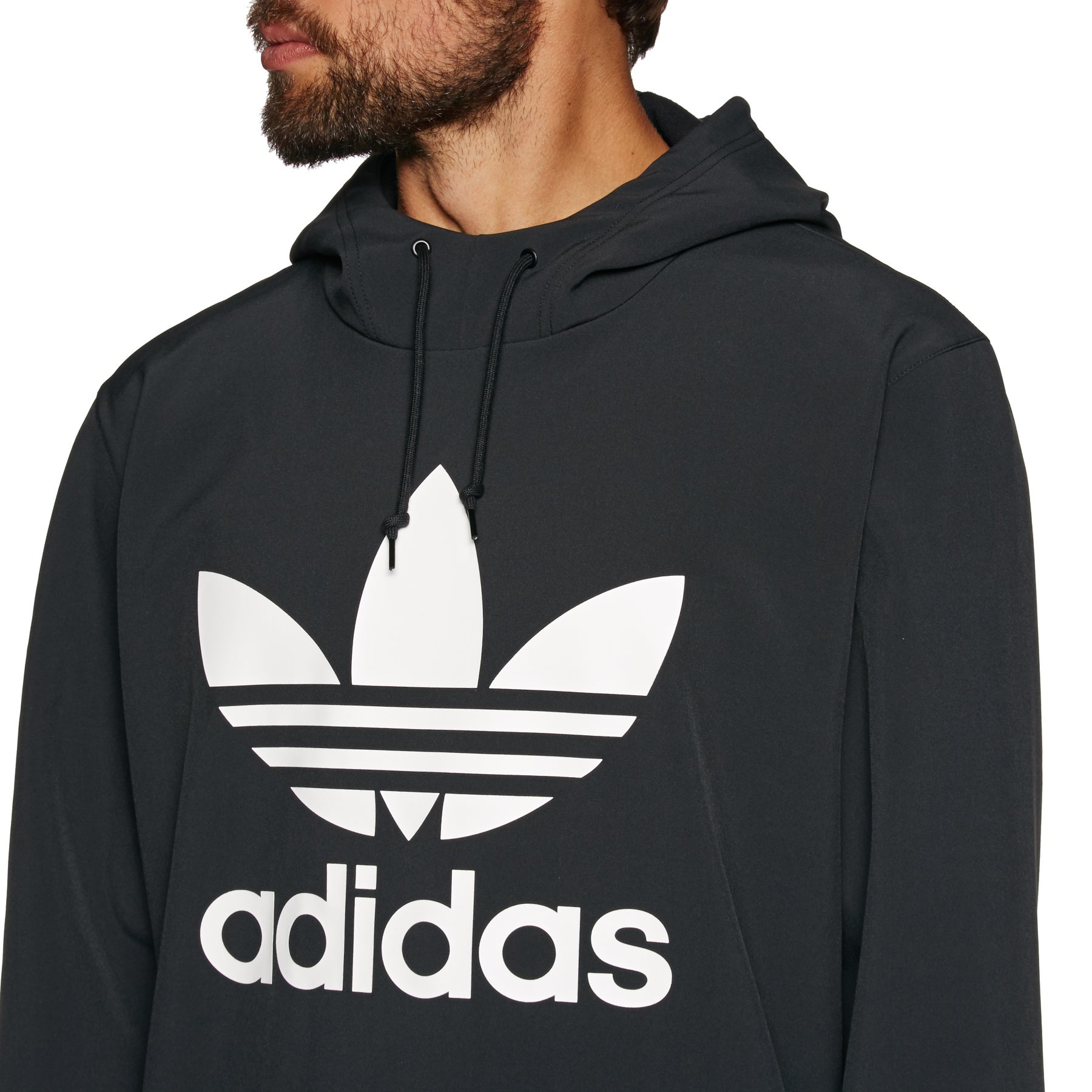 Adidas Team Tech Snowboard Hoodie Medium Grey HeatherBlack