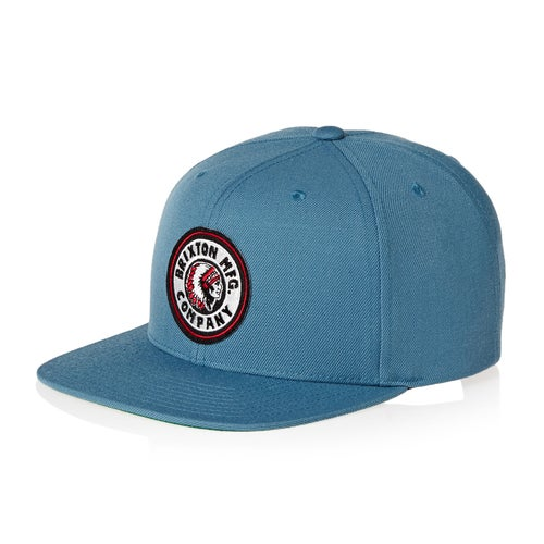 Brixton Rival Snapback Cap - Free Delivery options on All Orders from ... 33c58a5872d