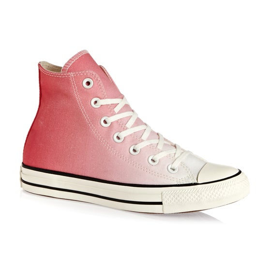3b641ad769db7 Chaussures Femme Converse Chuck Taylor All Star Hi - Punch Coral Egret