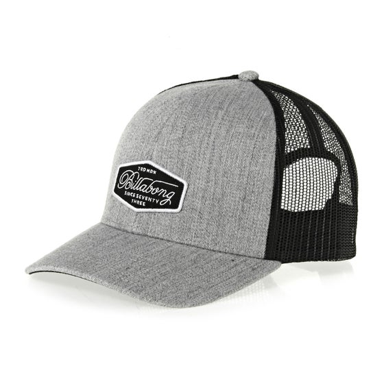cf10e7869d26 Billabong. Casquette Billabong Walled Trucker - Heather Grey