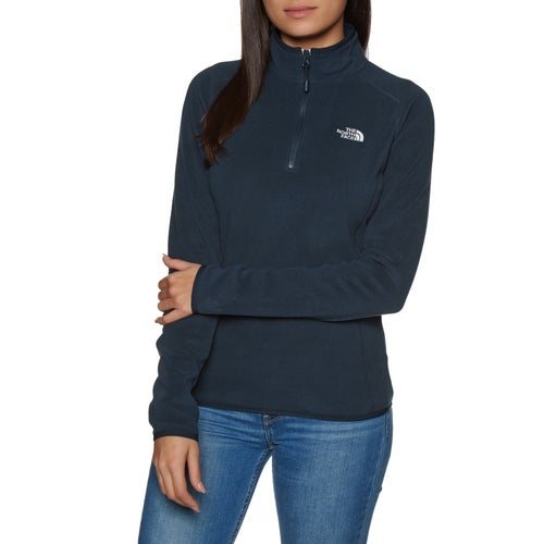 North Face 100 Glacier Quarter Zip Womens Fleece
