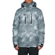 Quiksilver Mens Mission Printed Snow Jacket available from Surfdome 828a0314624