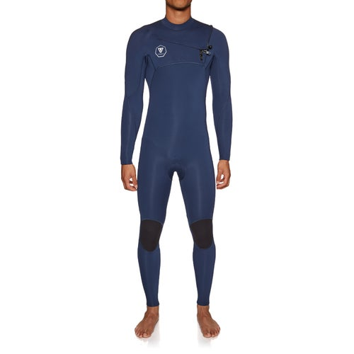 46a1bfb573 Vissla 7 Seas 5 4mm Chest Zip Wetsuit available from Surfdome