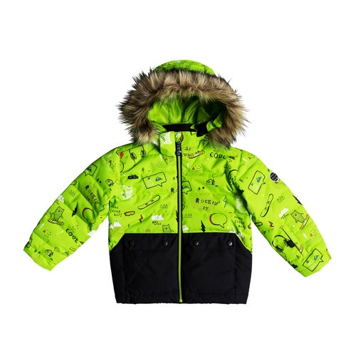 c486b2d0cec Quiksilver Edgy Kids Snow Jacket available from Surfdome