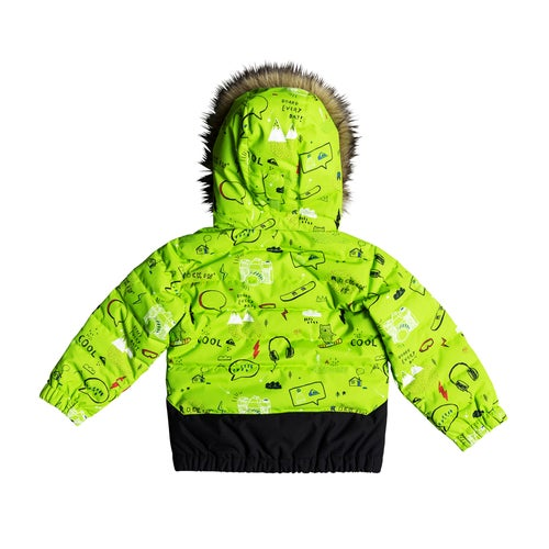 aeddc9b21 Quiksilver Edgy Kids Snow Jacket available from Surfdome