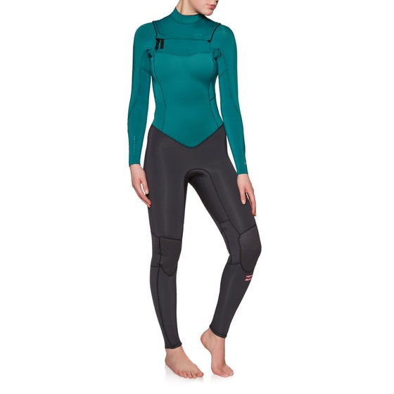 49e3137999 Billabong. Billabong Furnace Synergy 3 2mm 2019 Chest Zip Ladies Wetsuit ...