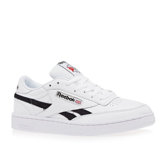 7629531fd11 Reebok. Reebok Revenge Plus Mu Shoes - White Black