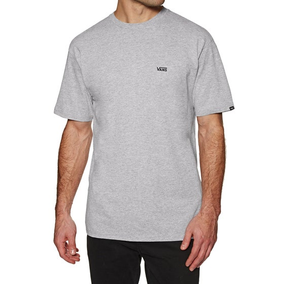 5b8d31b42a Vans. Vans Left Chest Logo Short Sleeve T-Shirt - Athletic Heather