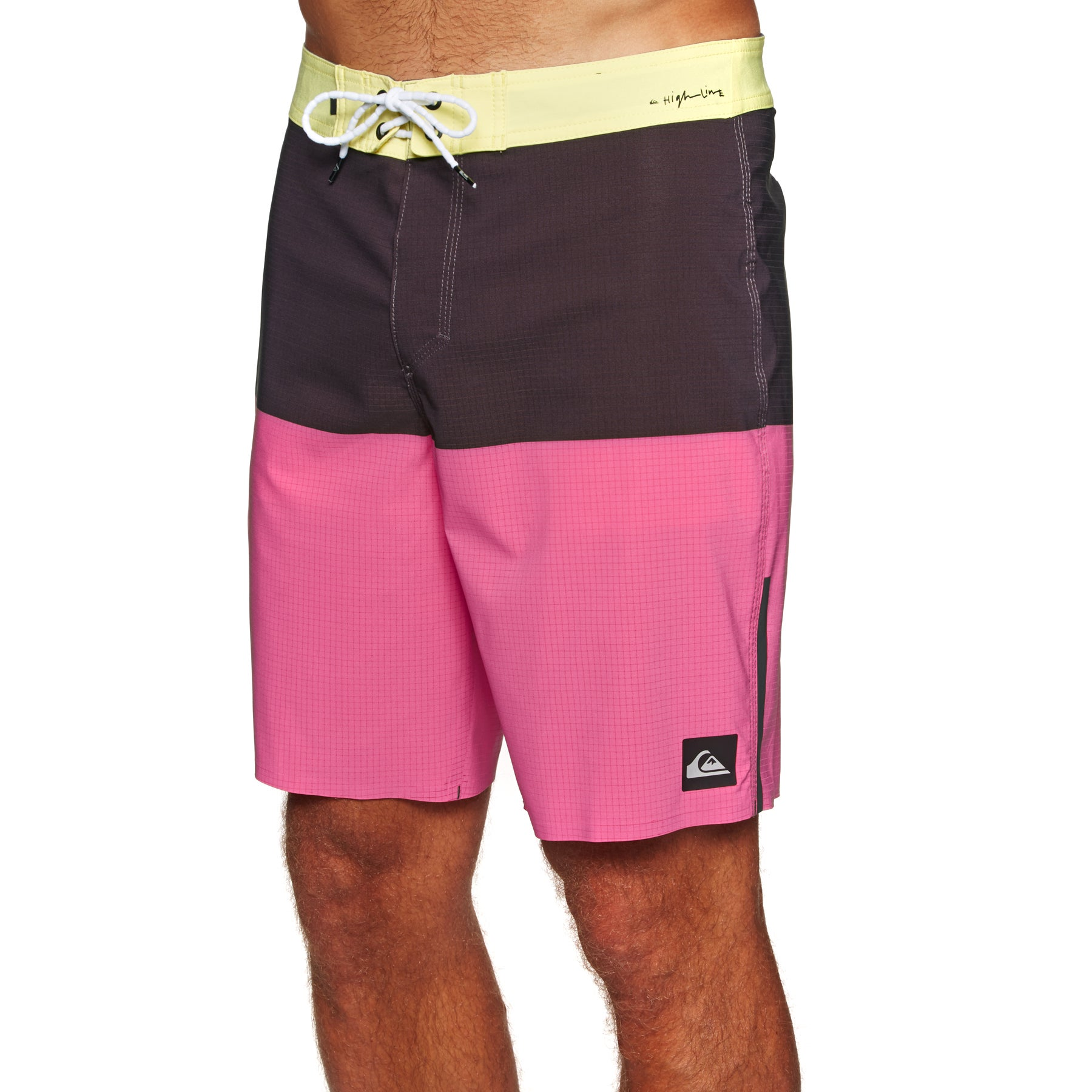 f228a1e8fb Quiksilver Highline Division Pro 19in Boardshorts Yellow All Sizes
