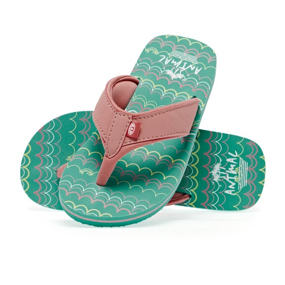 44fd24ee1de3 Animal. Animal Swish Aop Girls Kids Sandals ...