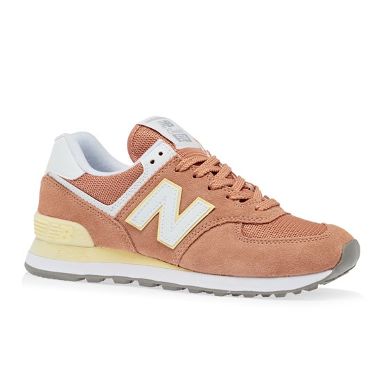 premium selection 475e4 19a06 Chaussures Femme New Balance Wl574 - Faded Copper Sun Glow