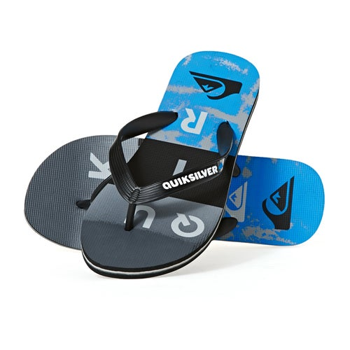 Quiksilver Molokai Wordblock Sandals available from Surfdome 7529e77420a