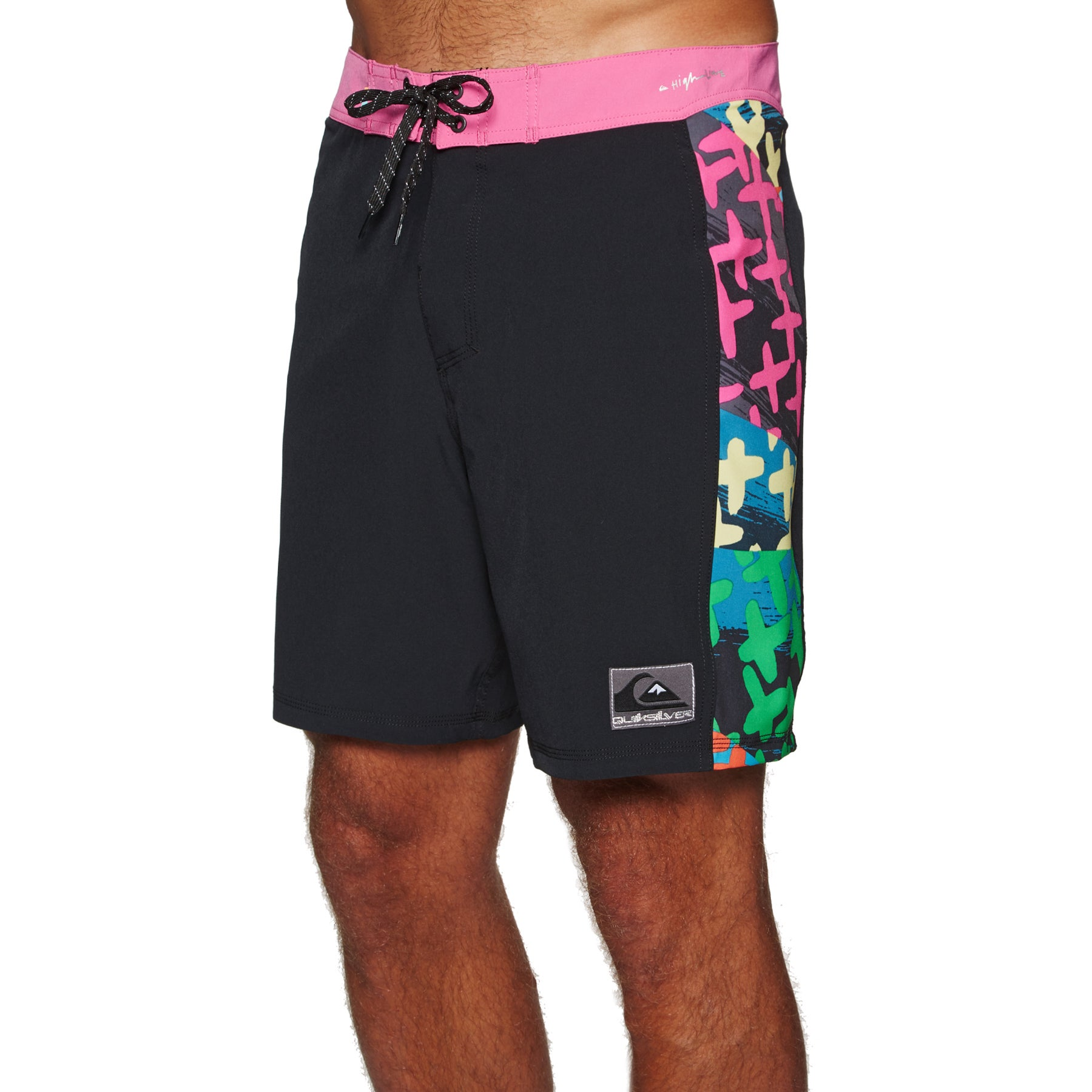 95692e5783 Quiksilver Highline Arch Pop 18in Mens Shorts Boardshorts - Black ...