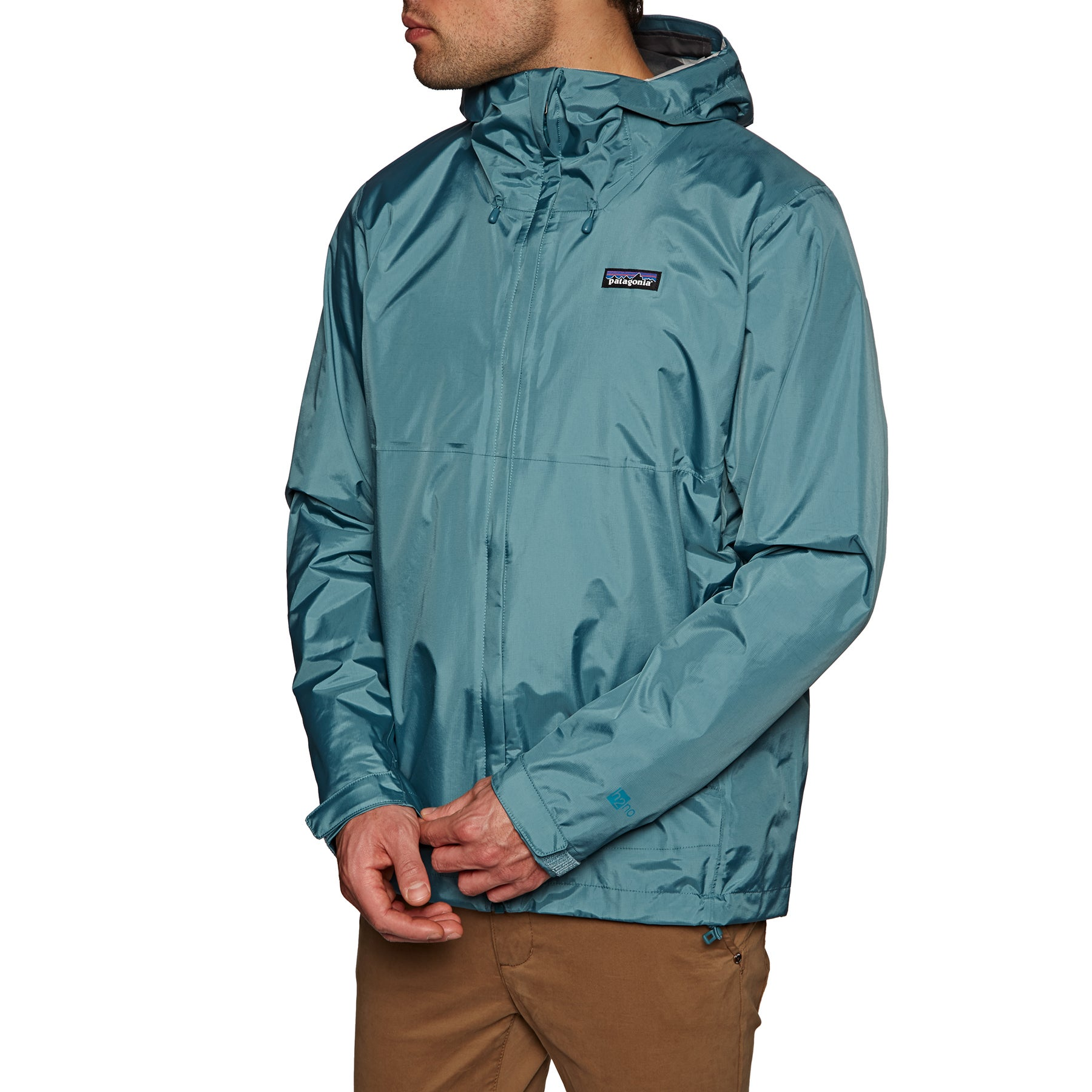 finest selection 60139 c21c2 Details about Patagonia Torrentshell Mens Jacket Coat - Tasmanian Teal All  Sizes