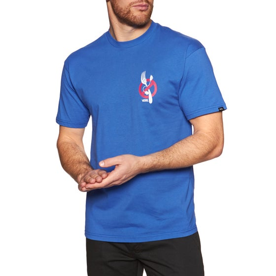 8c558b62e2 Vans. Vans Zero Forks Short Sleeve T-Shirt - Royal Blue